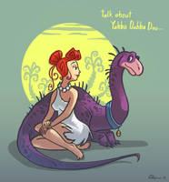 Wilma Flintstone by Timooon