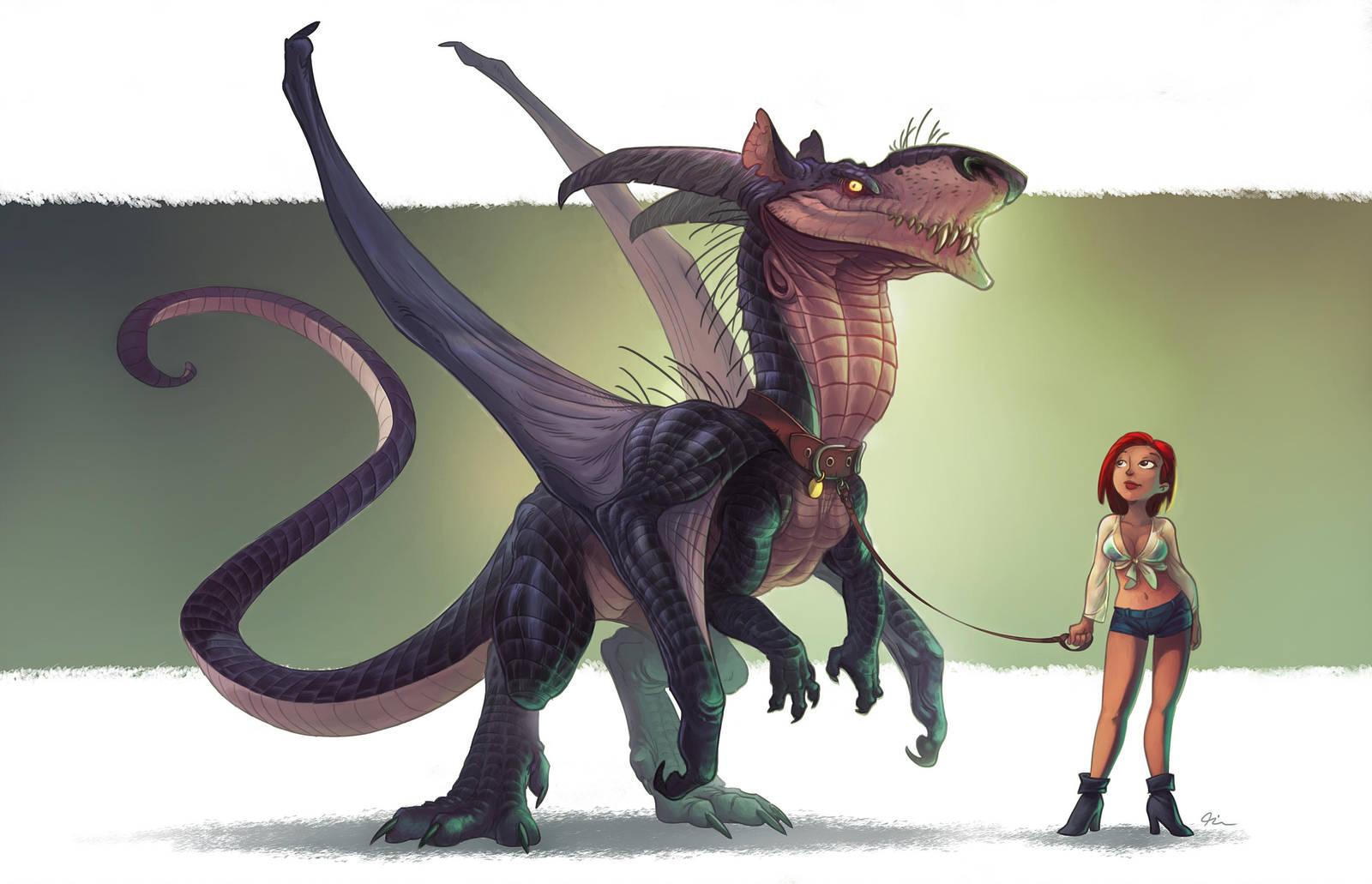 Rat Dragon by Timooon