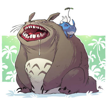 Totoro by Timooon