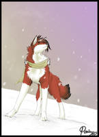hyenae's snowfall + by Poriina