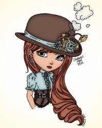 Steampunk Hat by slinkysis3