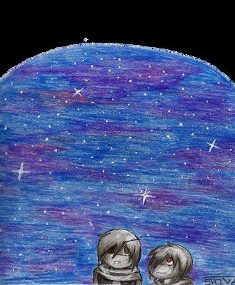 OC | Starry Night by dark031