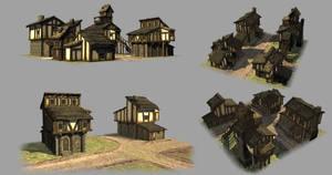 Medieval Village by Creative-Games