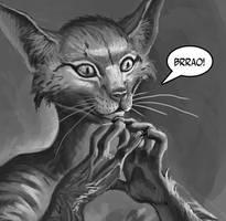 Fiendish catman by Creative-Games