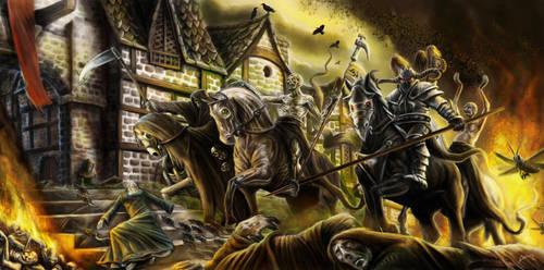 Horsemen of the Apocalypse by Blensig