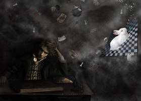 The Madness of Lewis Carroll by SafetyInNumbness