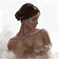 Portrait sketch 2 by deadfish95