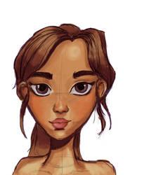 Digital Drawing Exercise by KawaiiKayley