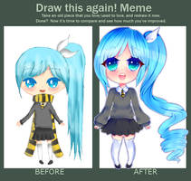 [OC]: Before and after by naemin