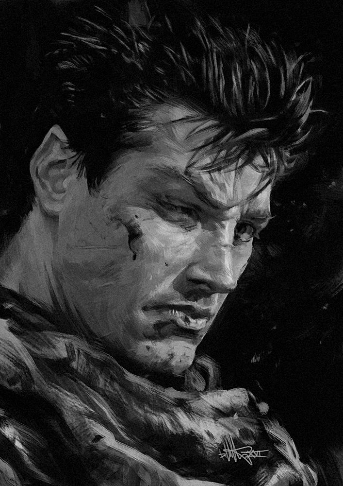 The Black Swordsman by kopfstoff