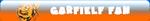 Garfielf Fan Button by crazautiz