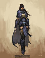 Female Slayer Concept by wyd1985