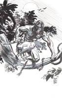 Tarzan sketch by deankotz