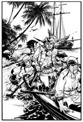 Treasure Island by deankotz
