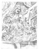 Carmilla pencils by deankotz