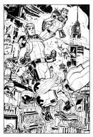 Buck Rogers and Gernsback Gals by deankotz