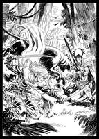 Drizzt VS Elric by deankotz