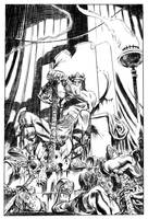 Kull on the Valusian Throne by deankotz