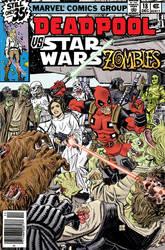 Deadpool Vs. Star Wars Zombies by deankotz