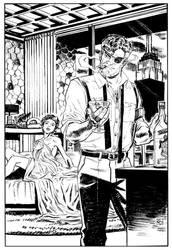 Nick Fury by deankotz