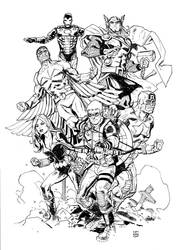 Avengers by deankotz
