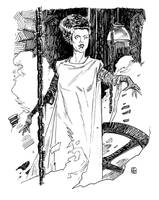 Universal Monsters: Bride of Frankenstein by deankotz