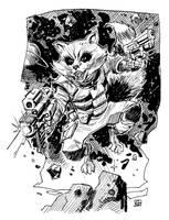 Rocket Raccoon sketch by deankotz