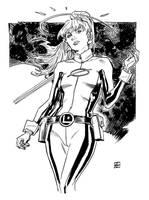 Saturn Girl by deankotz