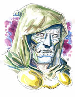 Docor Victor Von Doom. by deankotz