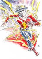 Jay Garrick, the Flash by deankotz