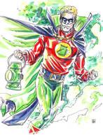 Alan Scott,  Green Lantern by deankotz