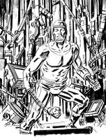 Machine Man by deankotz