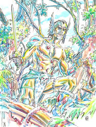 The Warlord by deankotz