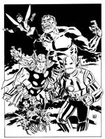 The Avengers by deankotz