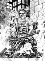 Watchmen: The Comedian by deankotz