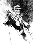 The Phantom Stranger by deankotz