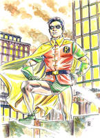 Robin, the Boy Wonder by deankotz