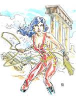Teen Titans: Donna Troy by deankotz