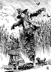 Dorothy Meets the Scarecrow by deankotz