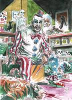 Captain Spaulding by deankotz