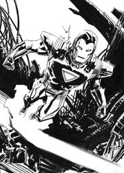 Iron Man, the Silver Centurion by deankotz