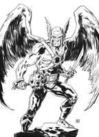 Hawkman by deankotz
