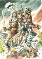 Thundarr the Barbarian by deankotz