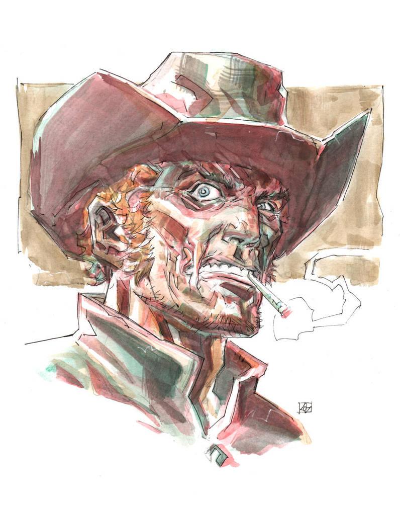 Jonah Hex sketch by deankotz
