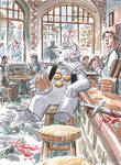 Cerebus commission by deankotz