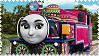 Ashima the Beautiful Indian Engine Stamp by BlueEngineLiz6