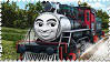 Carlos the Mexican Engine Stamp by BlueEngineLiz6