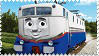 Etienne the French Engine Stamp by BlueEngineLiz6