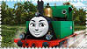 Gina the Italian Engine Stamp by BlueEngineLiz6