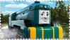 Shane the Australian Engine Stamp by BlueEngineLiz6